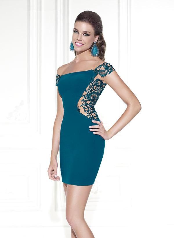 Blue Green Cocktail Dresses