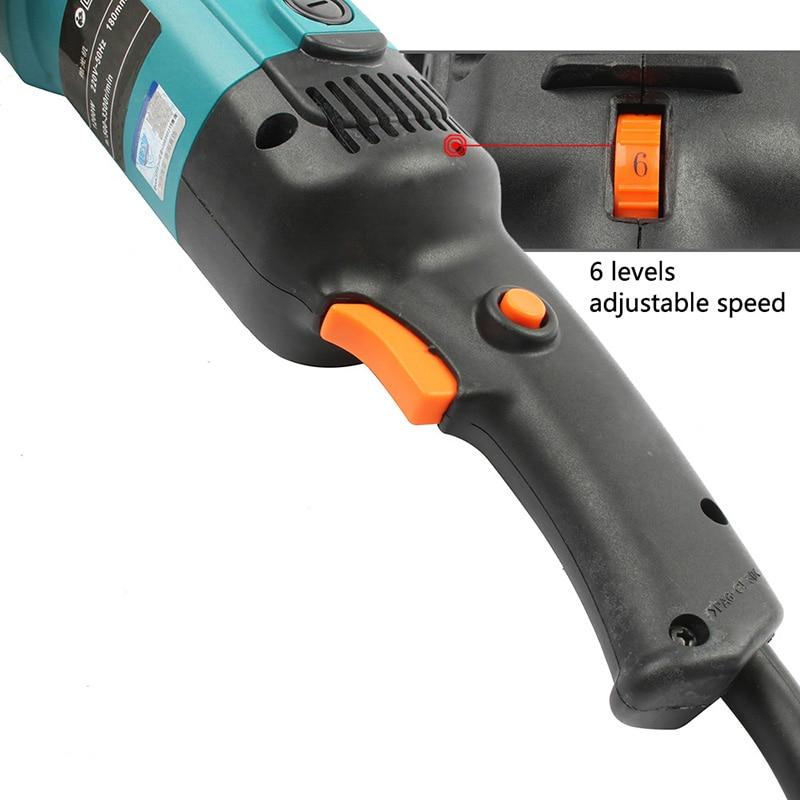 Hohe qaulity Auto Polierer 1200W Variable Geschwindigkeit 500-3300rpm Autolack Pflege Werkzeug Polieren Maschine 220V polieren maschine