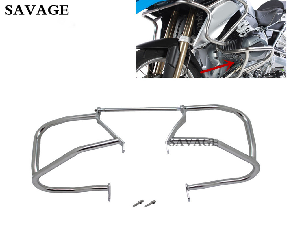 Motorcycle Tank Protection Bar Protection Guard Crash Bars Frame Falling Protection For B M W R1200 R 1200 GS LC 2013- Up 14 15