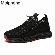 Moipheng 2019 Autumn Summer New Women Casual Shoes Hollow Me