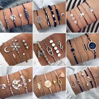 Bracelets Vintage Boho - Pulseras Mujer Bijoux