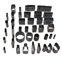 Overvalue Leather Craft DIY Tool 39 Shape Style Hole Hollow Cutter Punch Set Kit For Handmade