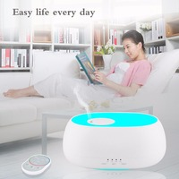 500ml Aroma Essential Oil Diffuser Ultrasonic Air Humidifier 7 Color Changing LED Lights For Office Home