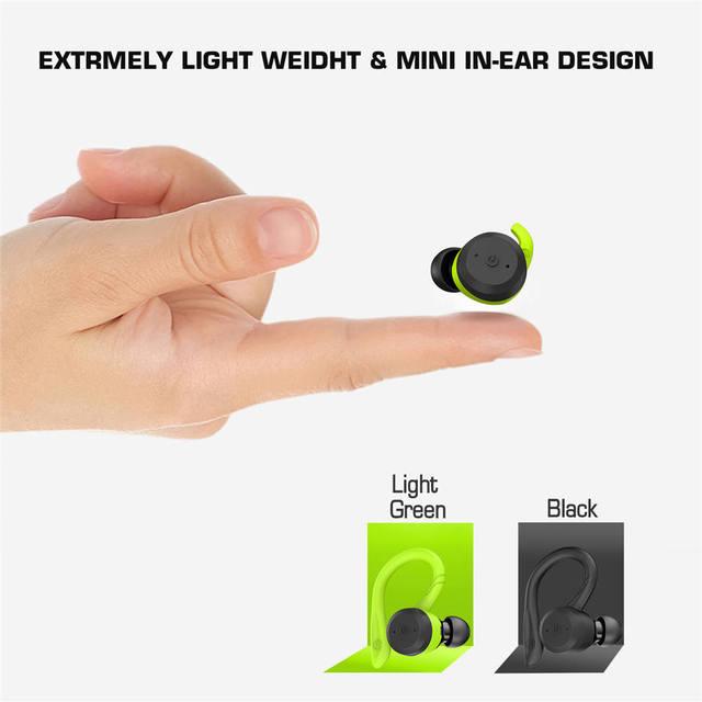 Dual Bluetooth Headset with Ear-hook  3