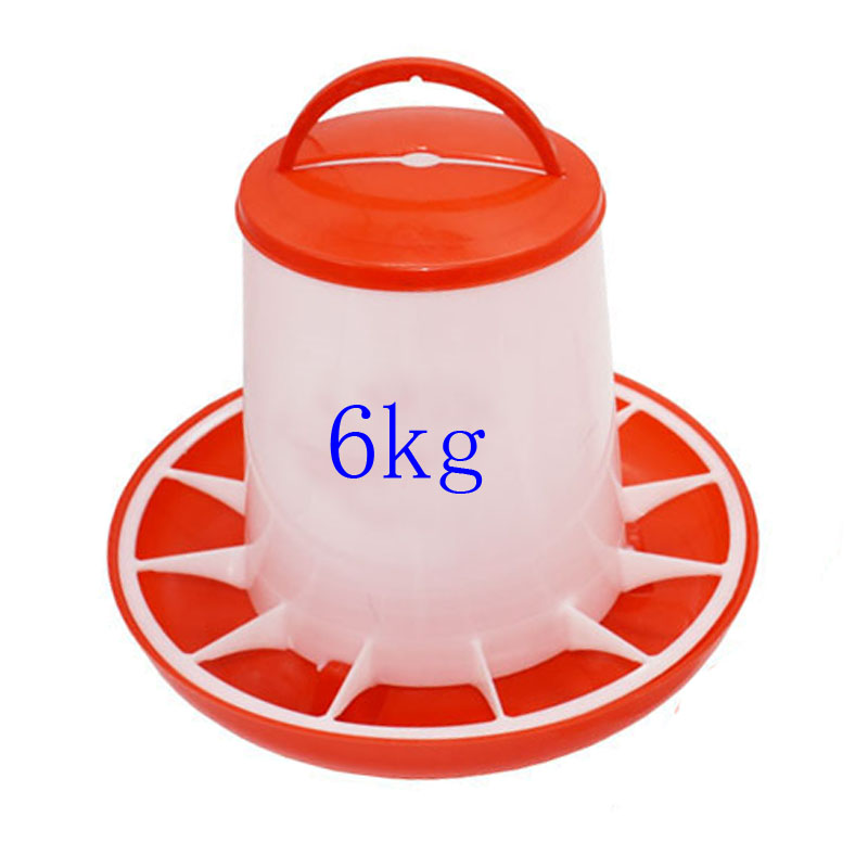 6kg poultry chicken feed barrel bird diet tool pigeon feeder animal feed bowl poultry breeding supplies 2 pieces|Feeding & Watering Supplies| - AliExpress