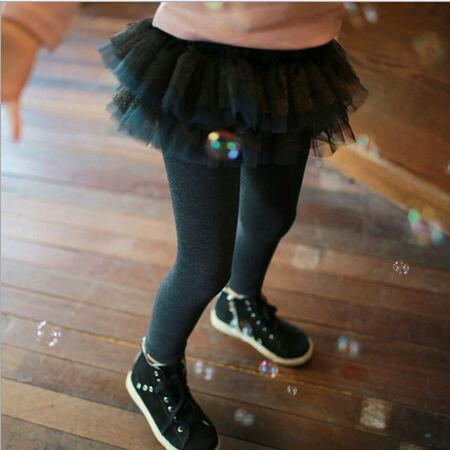 2016 New,girls princess leggings,children tutu pantskirt,2 colors,2-8 yrs,5 pcs/lot,wholesale,2952
