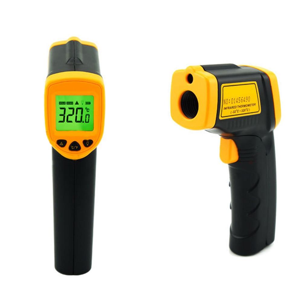 Sans Contact Laser LCD affichage IR infrarouge numérique température de Surface thermomètre pyromètre imageur-32 Celsius ~ 380 Celsius