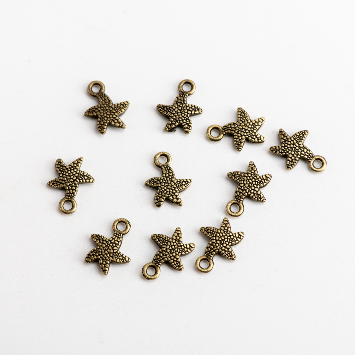 Starfish DIY Alloy Pendant Jewelry Findings Charms Jewelry Findings & Components For Jewelry Making #JZ508
