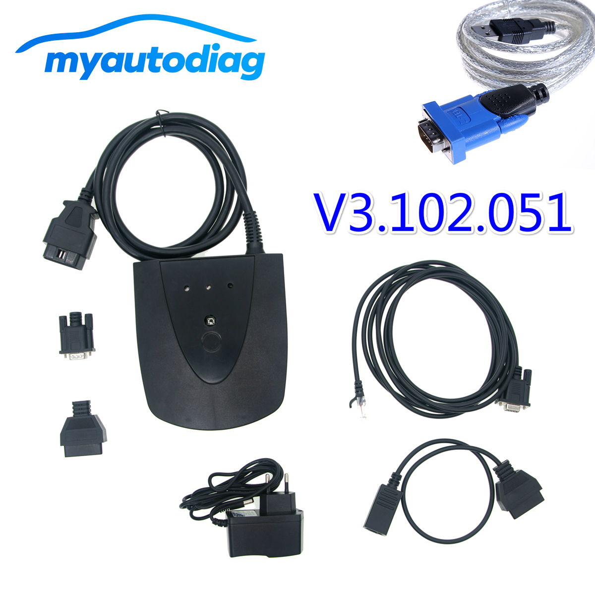High Quality wite Latest software V3 102 051 for Honda HDS HIM Diagnostic Tool with Double
