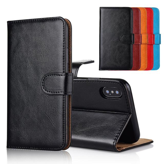 competitive price 71804 071ee For Tecno Camon X Pro Case cover Kickstand flip leather Wallet case With  Card Pocket