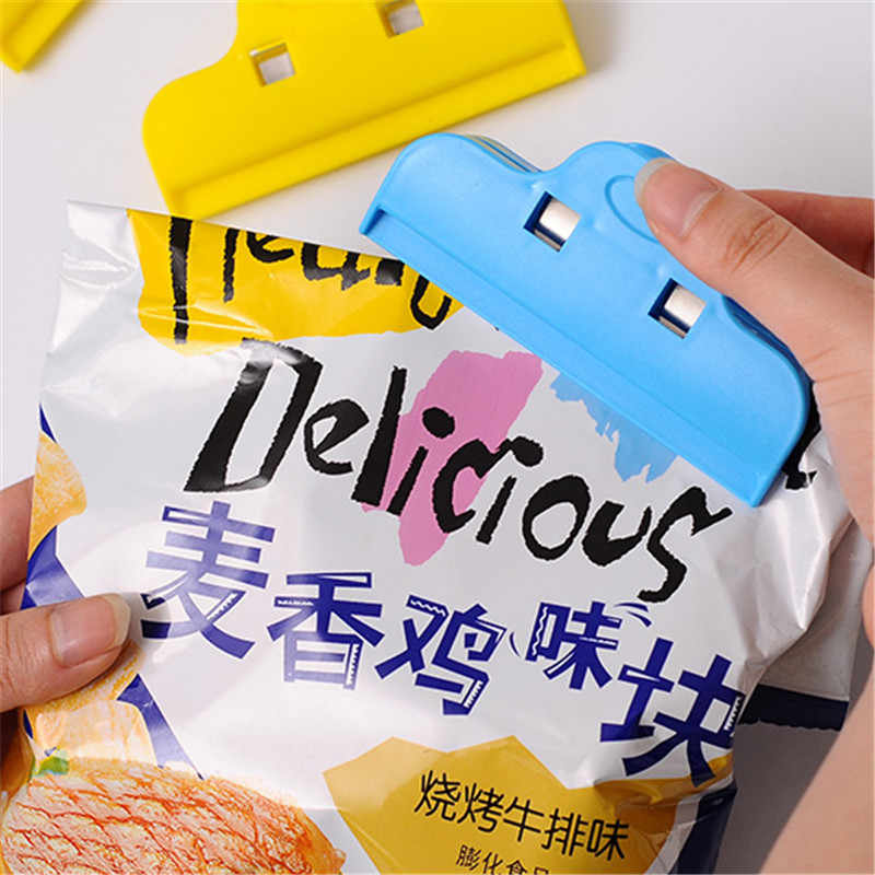 pcs  Food Sealing Clip Plastic Bag Clip Food Clothing Seal Clip Milk Powder Snacking Clip 3138