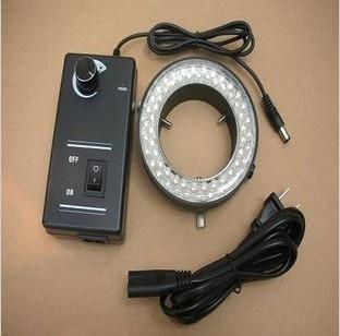 میکروسکوپ LED-60mm حلقه چراغ روشنایی سفید ویژه ماشین نورپردازی چشم انداز تنها بشکه لنز بشکه