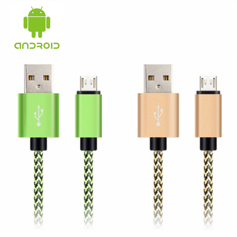 20cm 1m Android MICRO USB Mobile Phone Cable For Xiaomi Samsung S7 edge S6 S4 S3 S2 LG HTC Moto Fast Charger Line Wire Data Sync