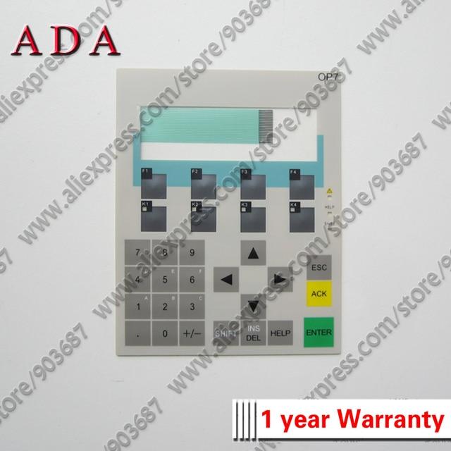 6AV3607 1JC20 0AX0 OP7 Membrane Keypad Switch for 6AV3 607 1JC20 0AX0 OP7 Membrane Keyboard