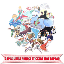 23pcs Little prince funny vintage DIY scrapbooking album Luggage Laptop Motorcycle notebook decal Waterproof Sticker E0047