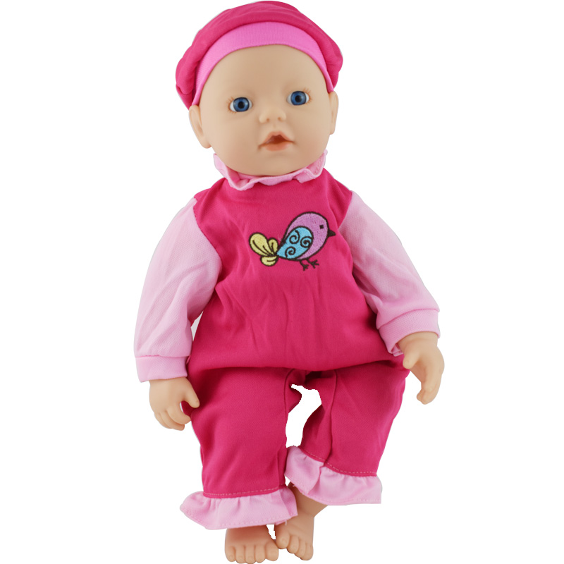 Outfit Wear For 32cm My Little Bayby Born Doll 13 Inch Dolls Clothes(only Sell Clothes)
