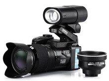 POLO SHARPSHOTS 16MP HD D3300 Digital Camcorder Camera Wide Angle Lens 21x Optical Telescope Lens Free shipping