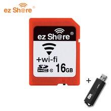 Original Real Capacity WIFI Share Memory SD Card 16GB Class 10 SDHC Flash Memory SD Card 8 GB cartao de memoria Free Shipping