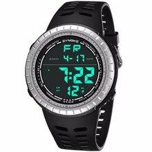 511b21daa8db46 Relogio Masculino Men Watch LED Military Waterproof Digital Wrist Watch  Sports Electronics Watches Male Clock With