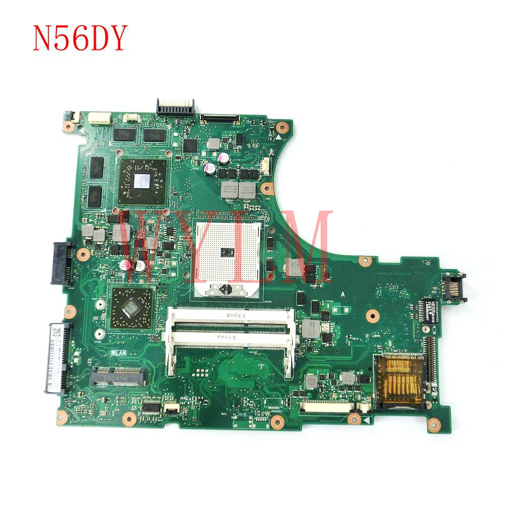 N56DY mainboard REV2.0 For ASUS N56D N56DP N56DY laptop motherboard 60NB140-MB2050-222 100% Tested Working hot for asus x551ca laptop motherboard x551ca mainboard rev2 2 1007u 100% tested new motherboard