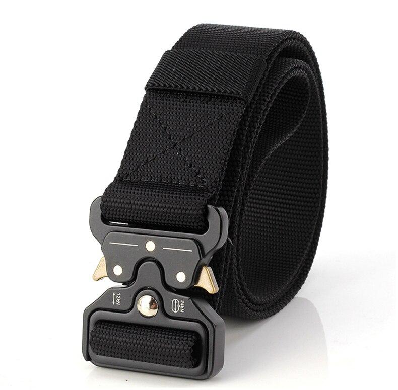 TACVASEN Men Brand Military Belt Quick Dry US Soldier Tactical Belt Combat Paintball Army Belt 3.8cm Nylon Waistband TD-BLL-012