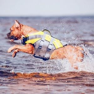 Image 5 - JANPET 3 Color Summer Dog Life Vest 3M Reflective Pet Life Jacket Dog Safety Clothes Waterproof for Dogs S XXL