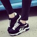 2016 de la moda de zapatos deportivos de marca zapatos casuales zapatos de plataforma de las mujeres zapatos de mujer transpirable entrenadores calzado para mujer chaussure femme