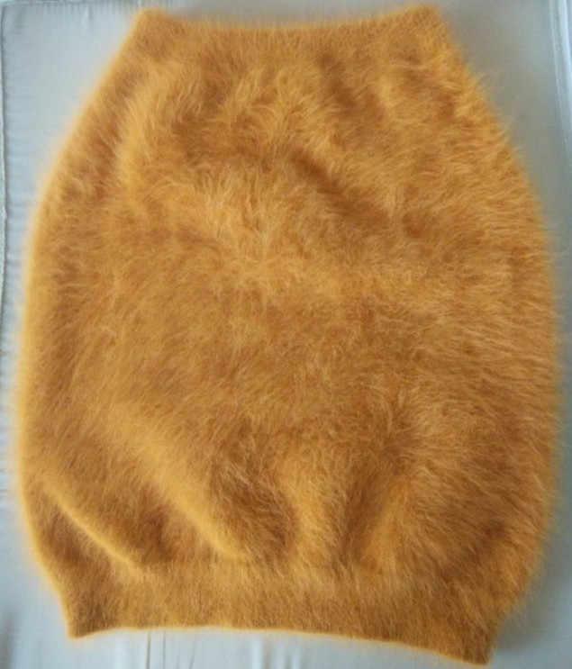 2019 новая зимняя тонкий Соболь Вязание норки кашемир осень теплая короткая юбка женские индивидуальные Многоцветный Бесплатная доставка JN267