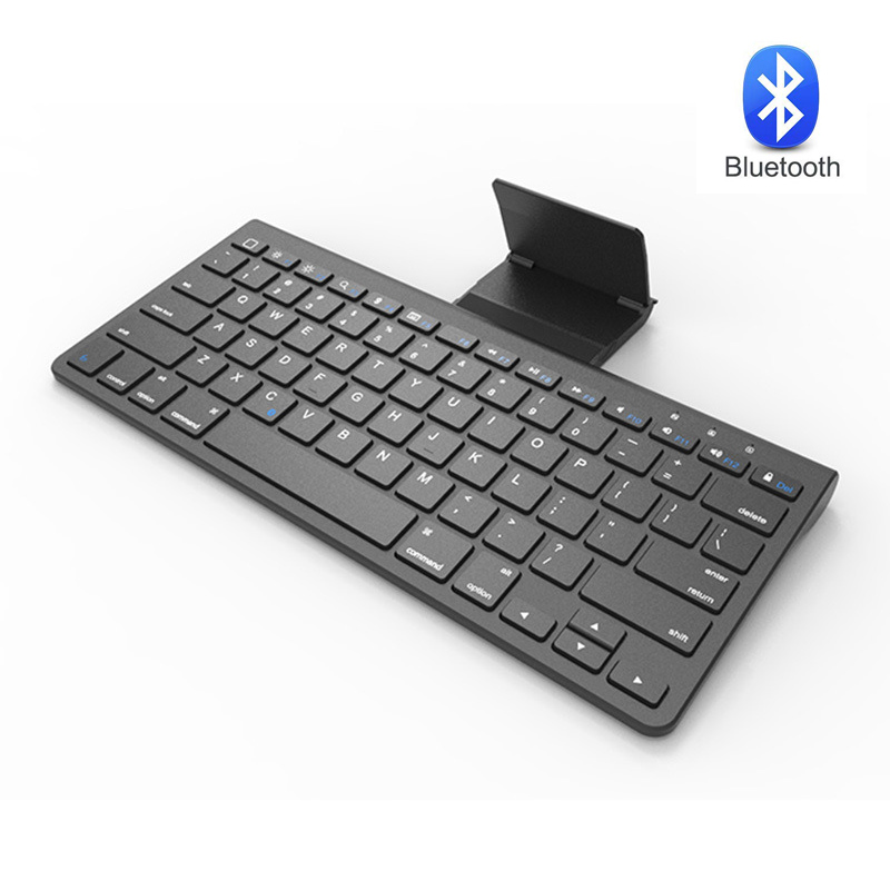 Wireless Bluetooth Chocolate Keyboard For iPad Tablet iPhone Laptop PC Computer Mini Holder Keypad For IOS Windows Android MAC