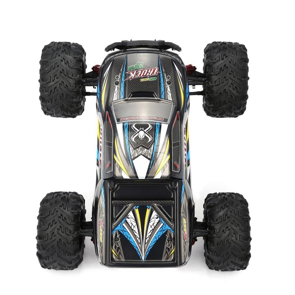9125 4WD 1/10 RC автомобиль Высокая скорость 46 км/ч Электрический Supersonic грузовик Внедорожник Багги RC гоночный автомобиль электронная игрушка RTR - 5
