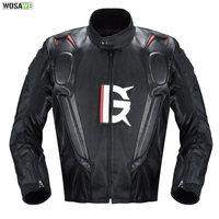 Motorcycle Leather Jacket Armor Oxford Cloth 600D Racing Jacket Body Protection Equipment Moto Motocross Off road Clothing