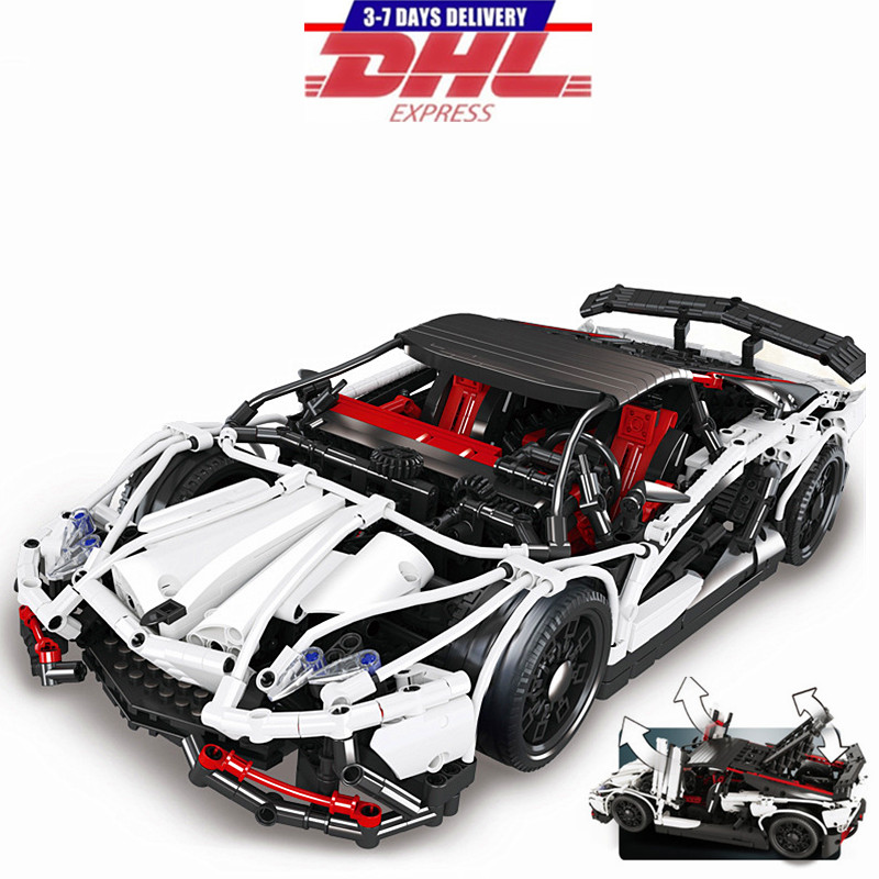 LEPIN Creator Technic Supercar Veneno Building Blocks Set Bricks Classic Car Model Kids Toys For Children Compatible Legoings classic lele 30004 grand emporium creator architecture building blocks bricks toys diy for children model compatible with 10211