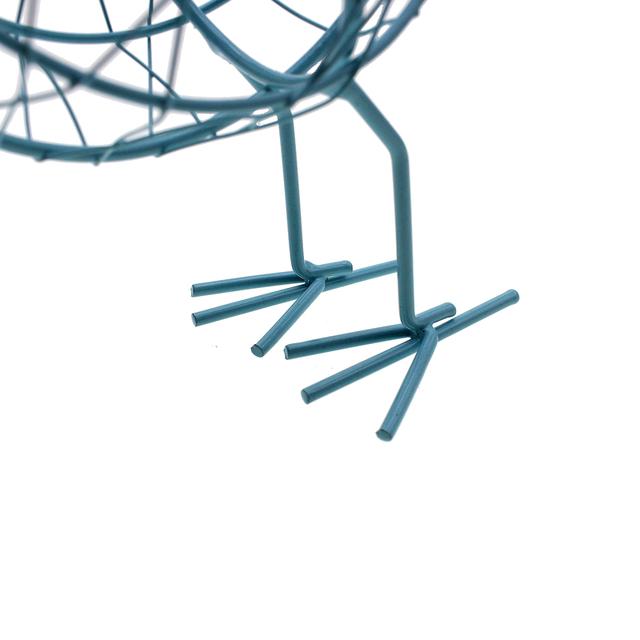 Retro Metal Wire Bird Figurine