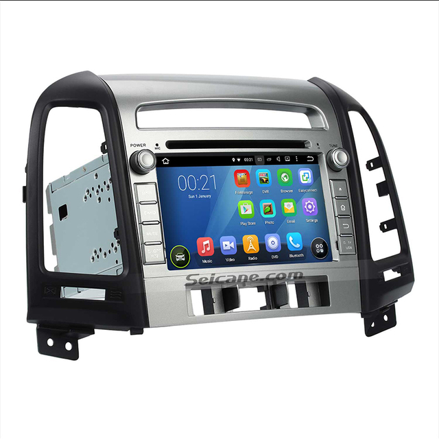 Charming Seicane 7 Inch For 2006 2012 Hyundai SANTA FE Android 5.1.1 Touch Screen