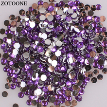 ZOTOONE Flatback Non Hotfix Nails Rhinestones For Phone DIY Crystal Applique Crystals And Stones Clothes Nail Art Decoration