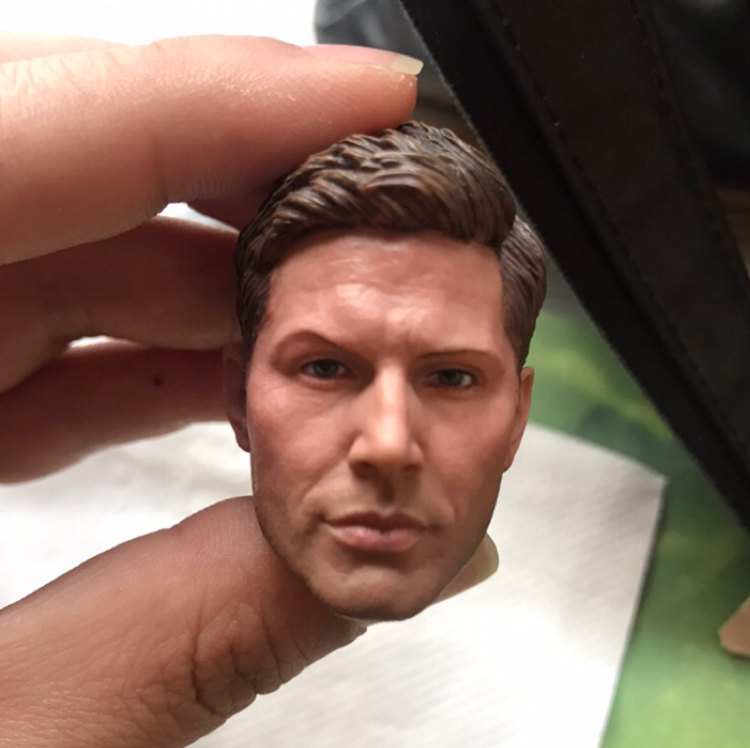 "FUNTOYS 1//6 Supernatural Sam Winchester Jared Padalecki Male Head For 12/"" Figure"