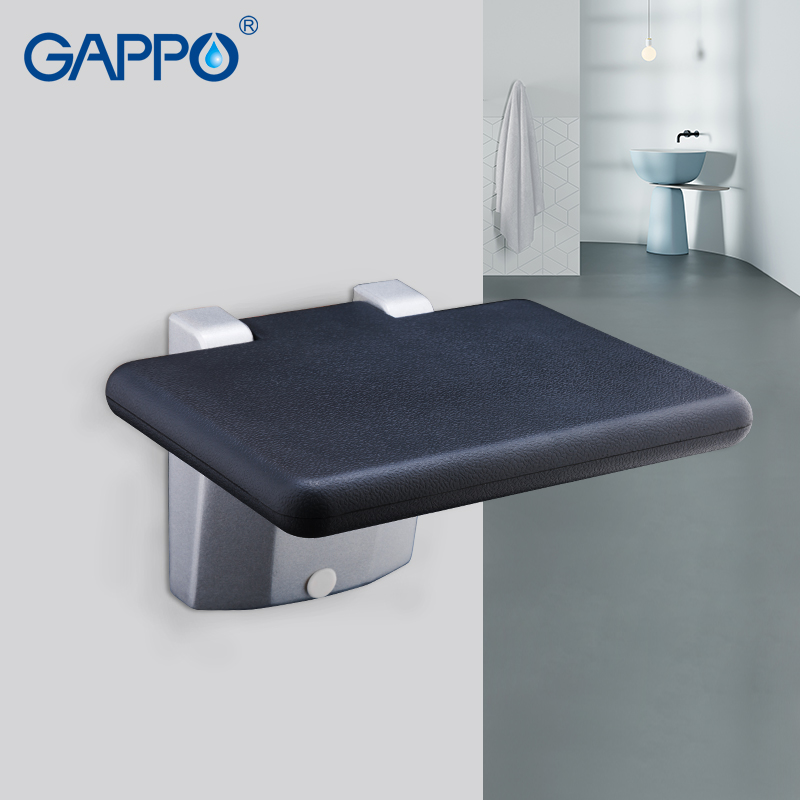 Gappo Wall Mounted Shower Seats Bath Stool Folding Toilet Chair Shower Seats Bathroom Shower Folding Seat Tub Bench Chair Complete In Specifications Home Improvement
