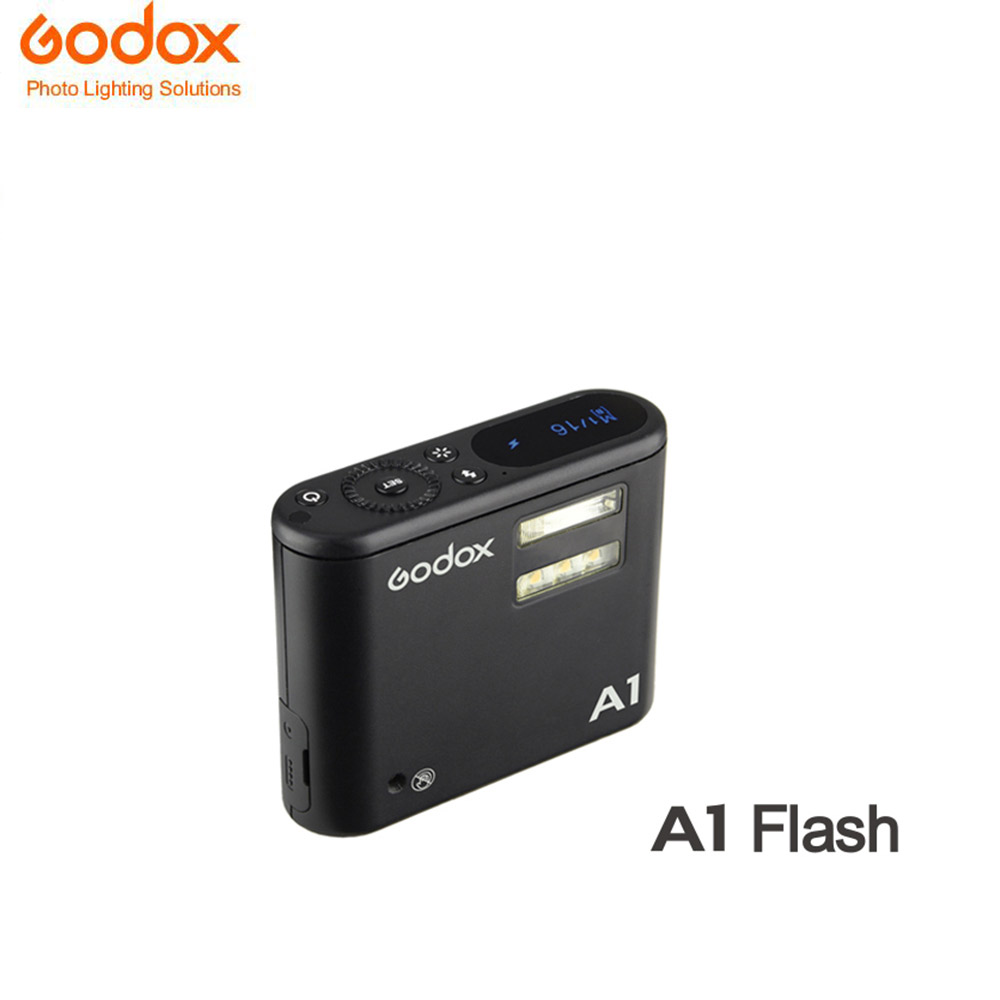 Godox New Arrival A1 Flash LED lamp with 2 4G Wireless Transmission Triggers with Lithium Battery