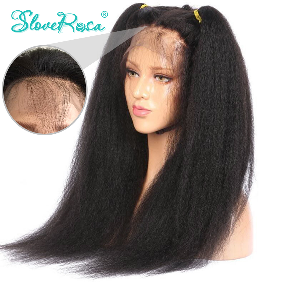 360 Lace Frontal Wig Pre Plucked Full Lace Around Human Hair Wigs For Women Black Color