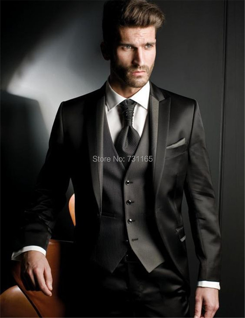 Online Get Cheap 3 Button Black Suit -Aliexpress.com | Alibaba Group