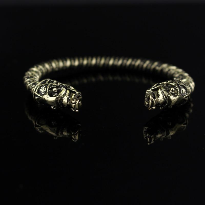 dongsheng κοσμήματα μόδα μέταλλο λύκος - Κοσμήματα μόδας - Φωτογραφία 2