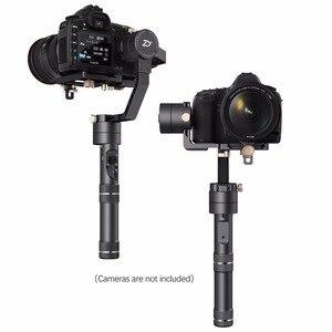 Image 2 - ZHIYUN الرسمية رافعة زائد 3 المحور يده Gimbal استقرار ل المرايا DSLR كاميرا لسوني A7/باناسونيك لوميكس/نيكون J/كانو