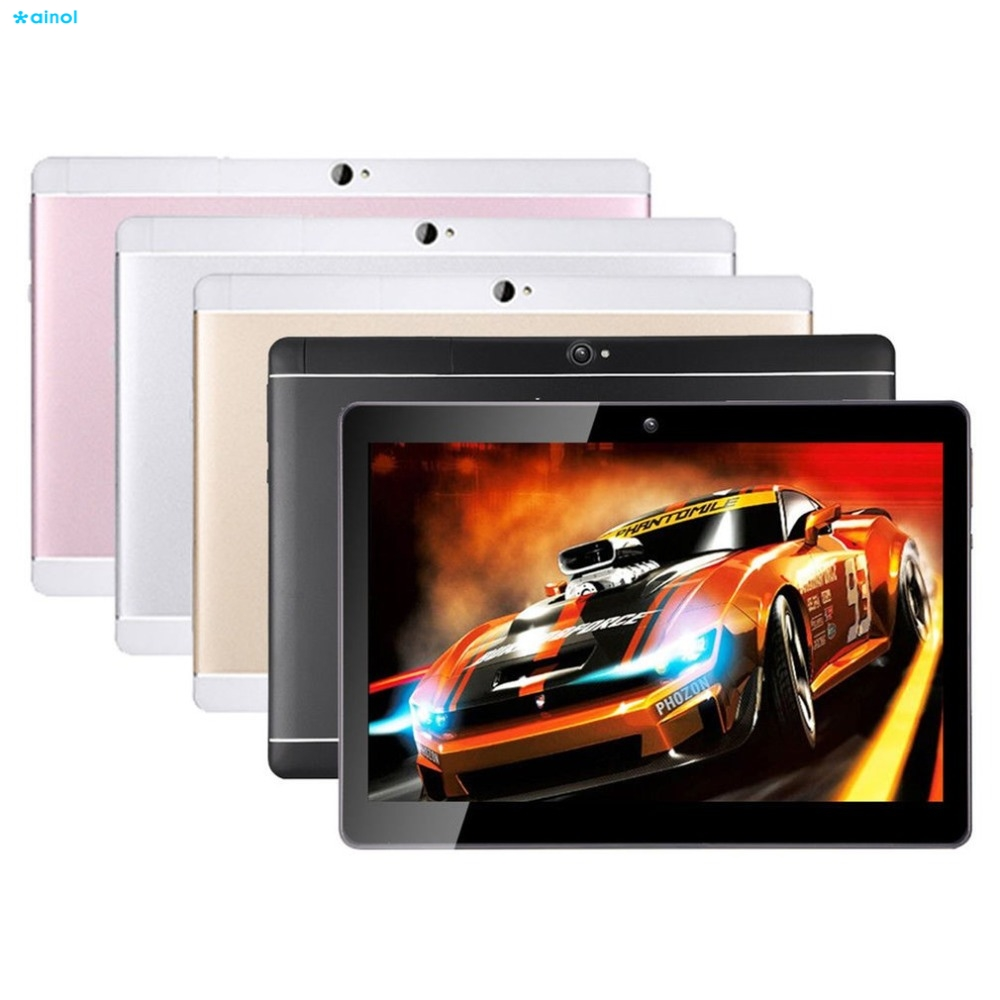 Ainol 10.1 Inch Android Tablet PC 1G/16G Or 2G/32G 8000mAh 1280*800 ips Octa-Core 3G phone call Metal Tablets US Plug lnmbbs tabletas dhl 10 1 inch original 3g phone call android 7 0 octa core dual sims ips 1280 800 tablet wifi 1g 16g function
