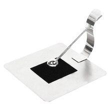 ABKM Hot Paper Towel Holders Silver Stainless Steel Paper Towel Dispenser With Rack,Kitchen Tissue Holder Non-Slip Countertop