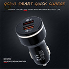 Dual USB Car-Charger Fast Charging Quick Charger 3.0,Quick Charge Car Chargers,Use for all mobile phones