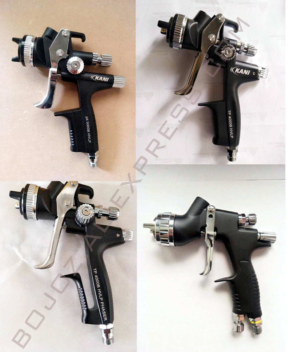 Black Limited Edition Series 4000/5000/Phaser/GTI HVLP Gravity feed Spray Gun-1.3 Noz w/t cup for Car Sprayer gun =Customize окрасочный пистолет satajet 4000 b hvlp 166819
