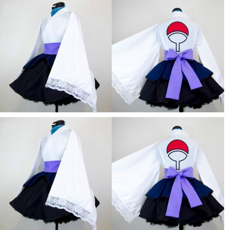 Anime Naruto Shippuden Uchiha Sasuke Dress Cosplay Costume Tailor  Made