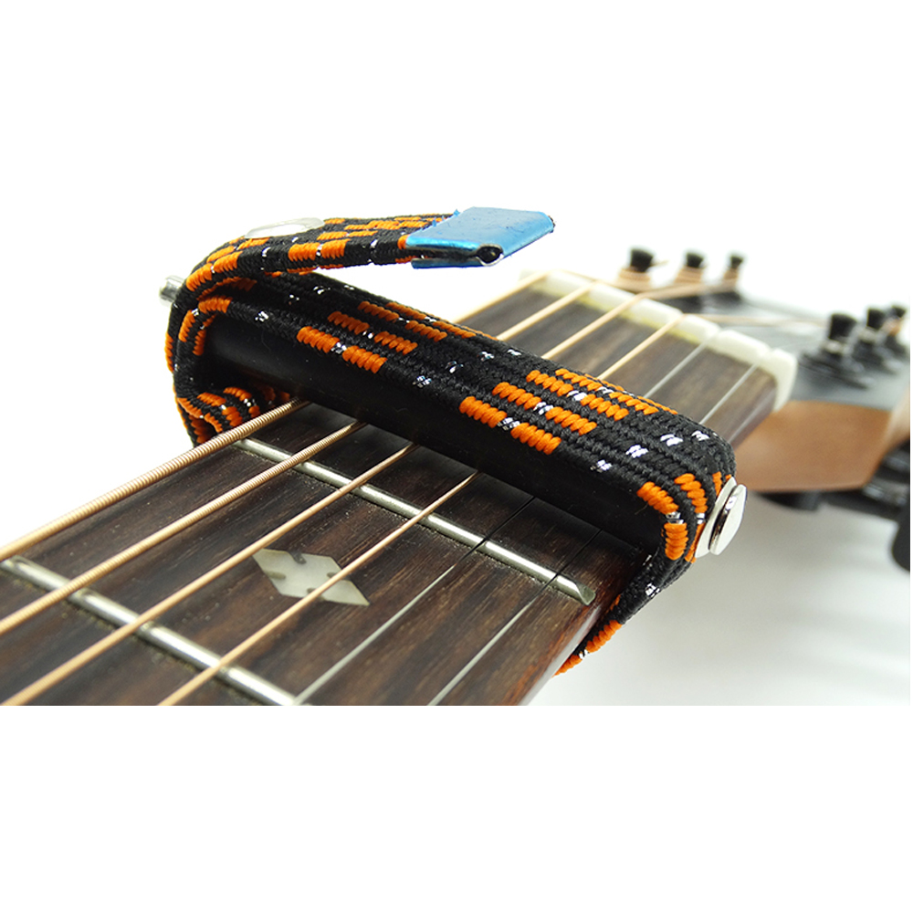 Guitar Capo On/with/for Folk/Classical/Electric Guitar Capotrast Elastic Multifunctional Spreading