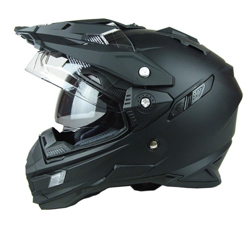 THH hommes moto casques VTT motocorss course Casco Capacetes moto hors route casques approuvé DOT S M L XL XXL taille