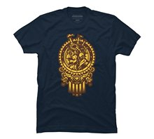 2017 fashion Steampunk 1852 Men's Graphic T Shirt 100% cotton
